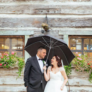 stylish doctors house kleinberg wedding