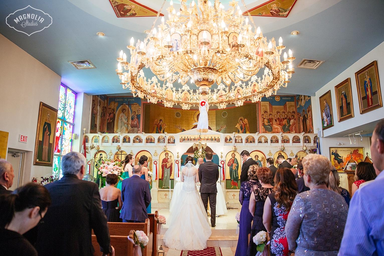 Greek Wedding Ceremony Toronto