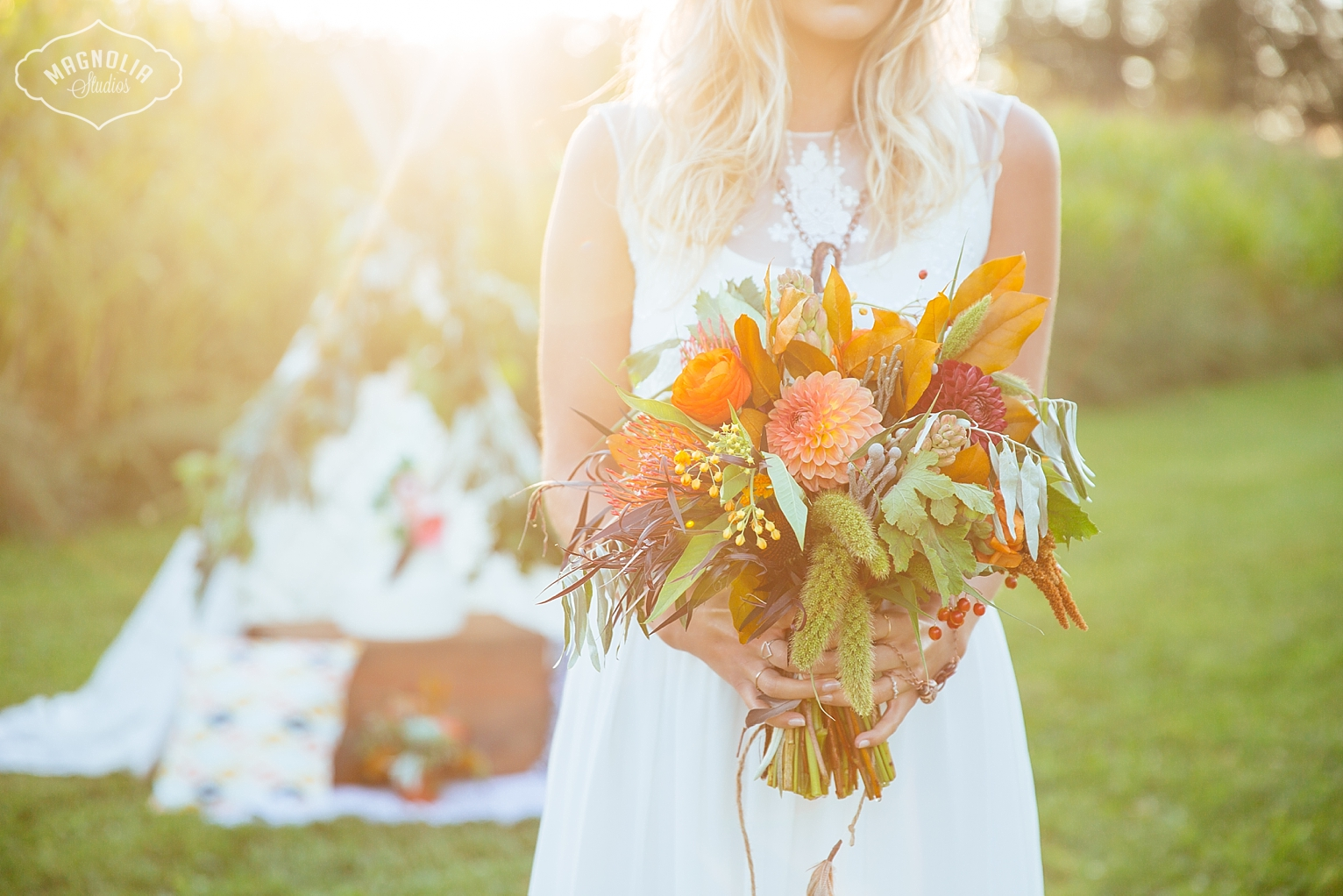 bohemian bride, boho style for weddings