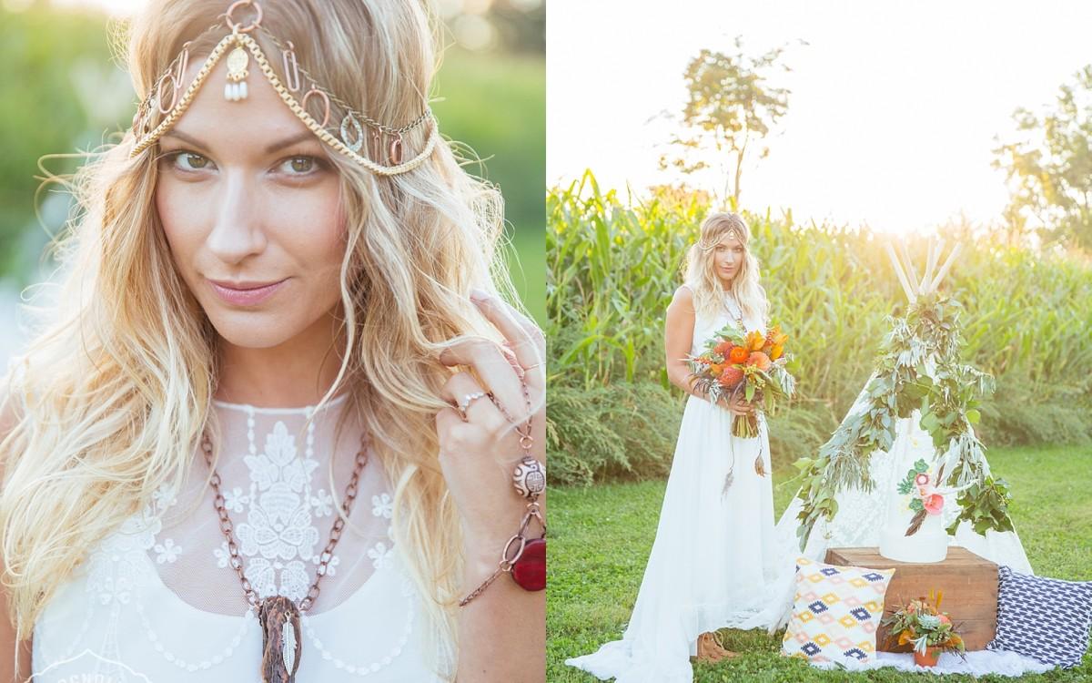 Bohemian Wedding Festival Style Shoot Toronto