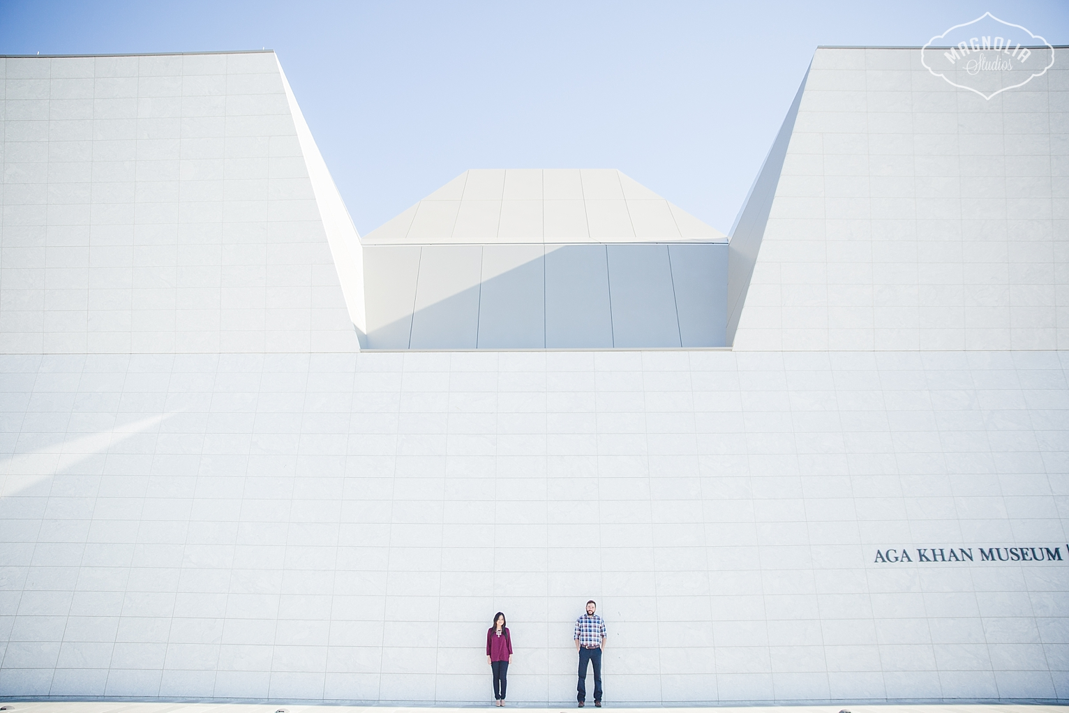 Aga Khan Museum Engagement Shoot