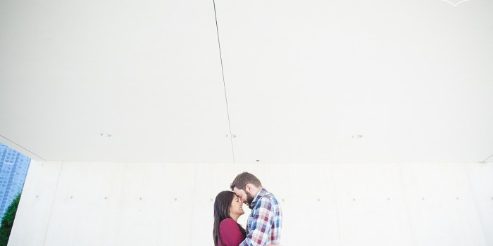 Aga Khan Museum, Graffiti Alley Engagement Shoot | Josie & Joel