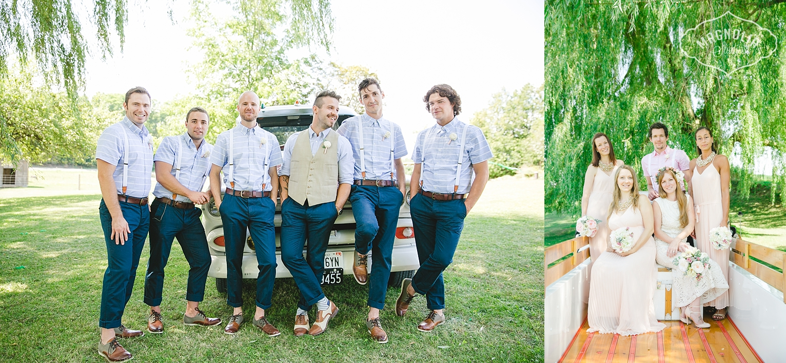 indie menswear for groom and groomsmen