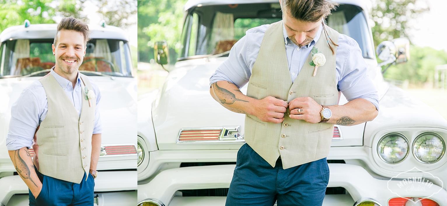 grooms vest indie wedding
