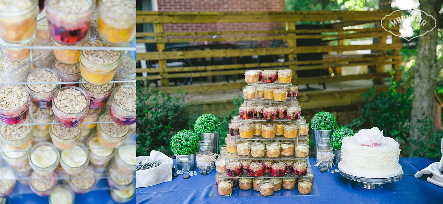 bohemian dessert table
