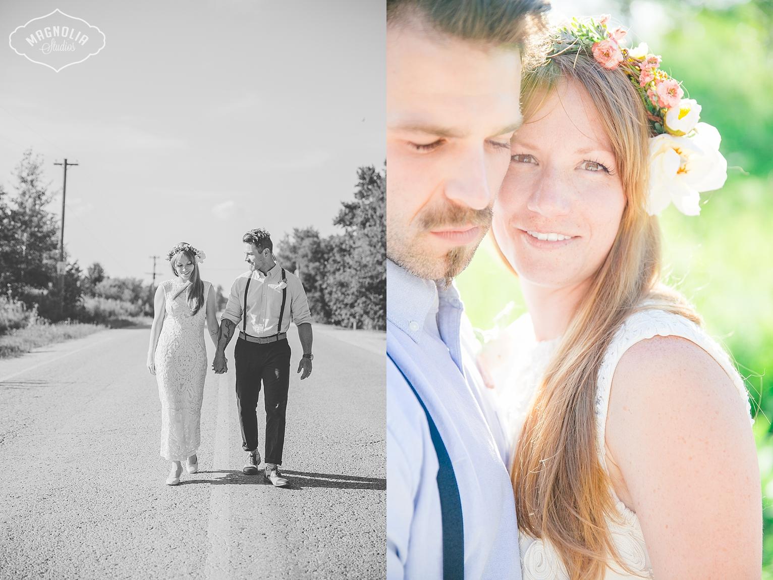 Bohemian Indie wedding Toronto