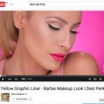 Yellow Graphic Liner Makeup Tutorial by Desi Perkins