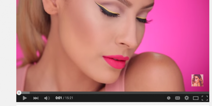Yellow Graphic Liner Makeup Tutorial by Desi Perkins