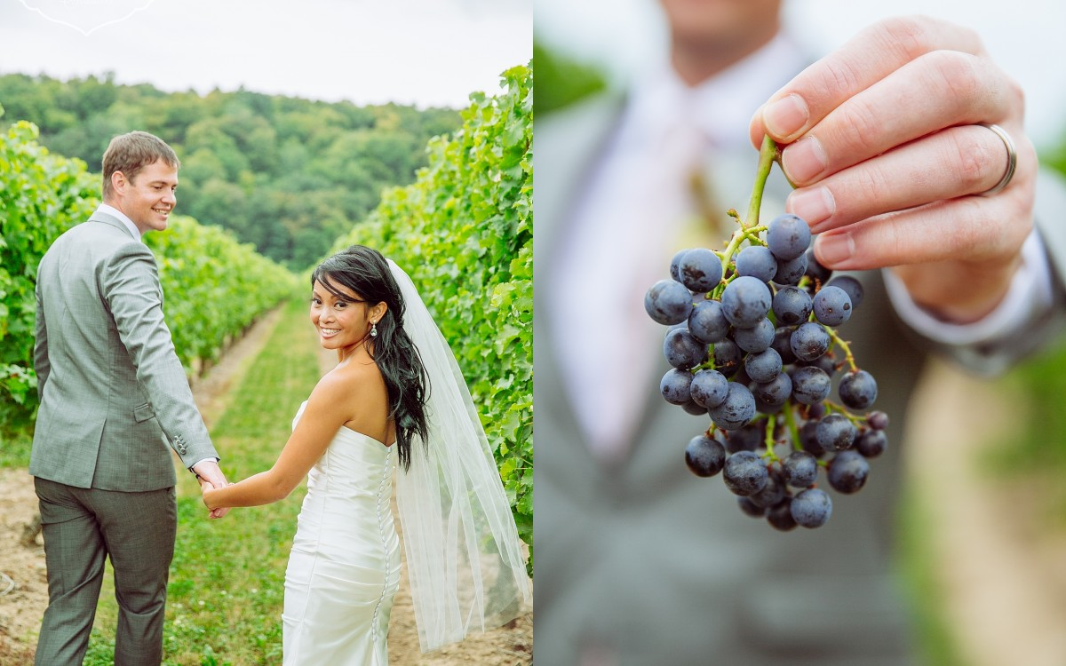 Organic Chic wedding in Niagara