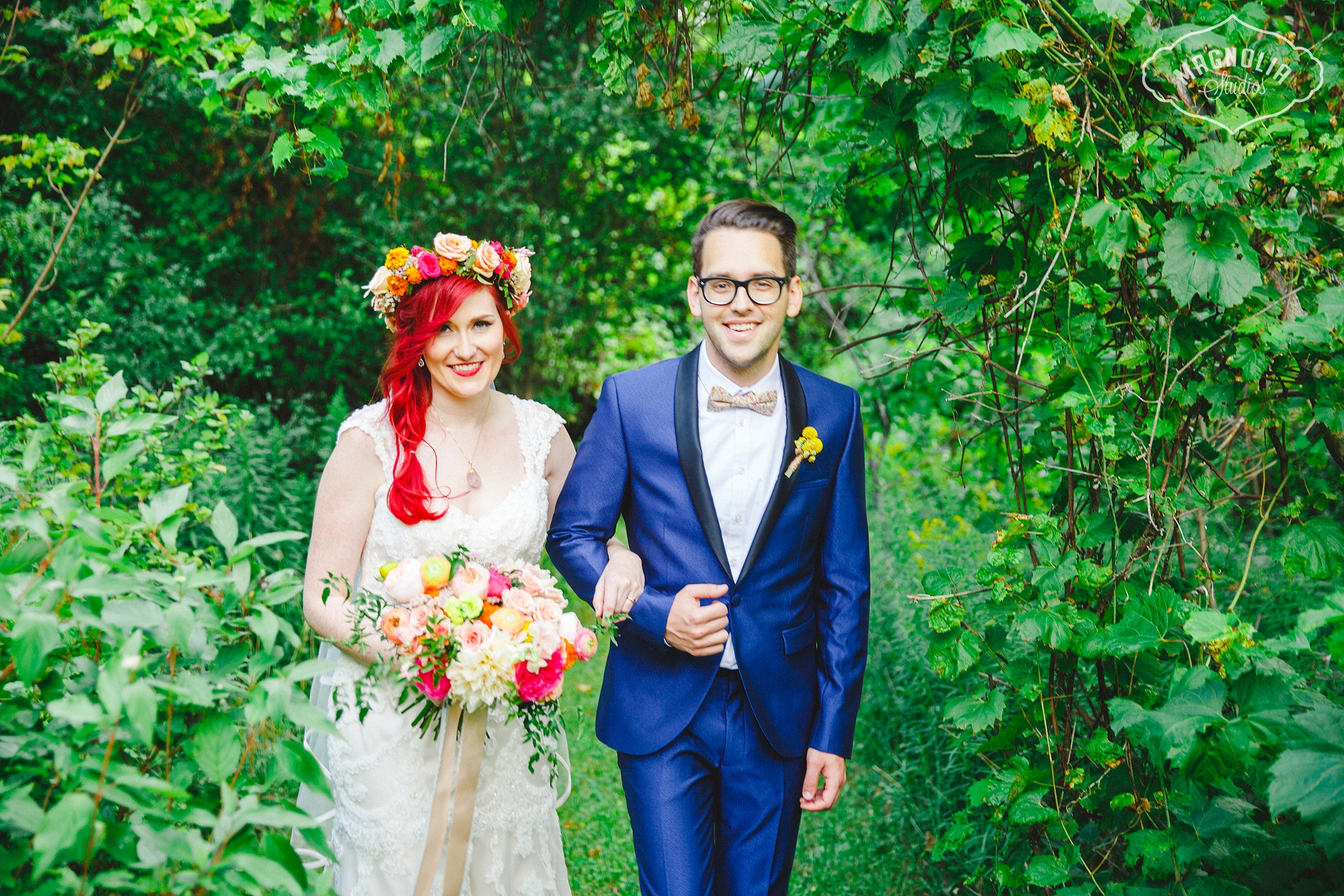 Bohemian Indie Wedding
