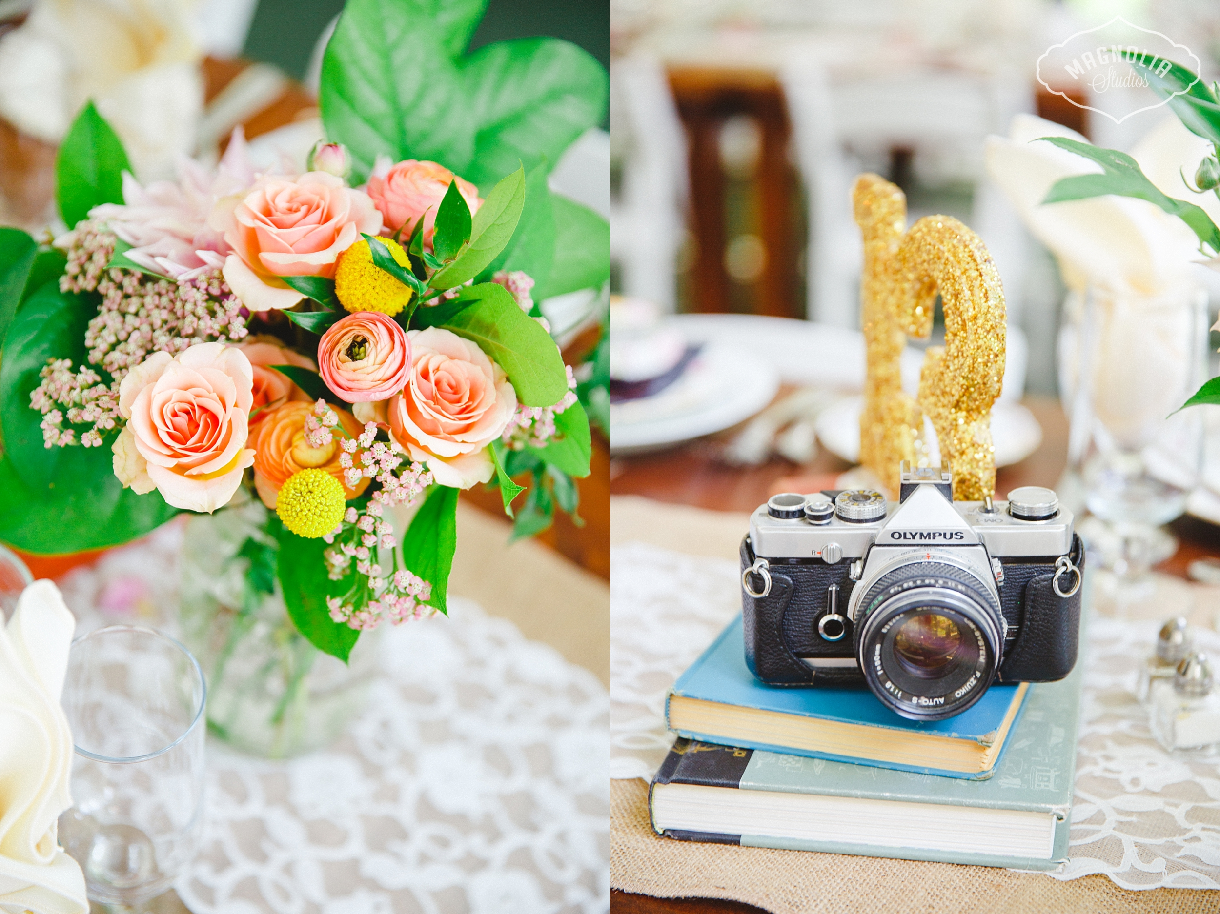 bohemian indie wedding decor