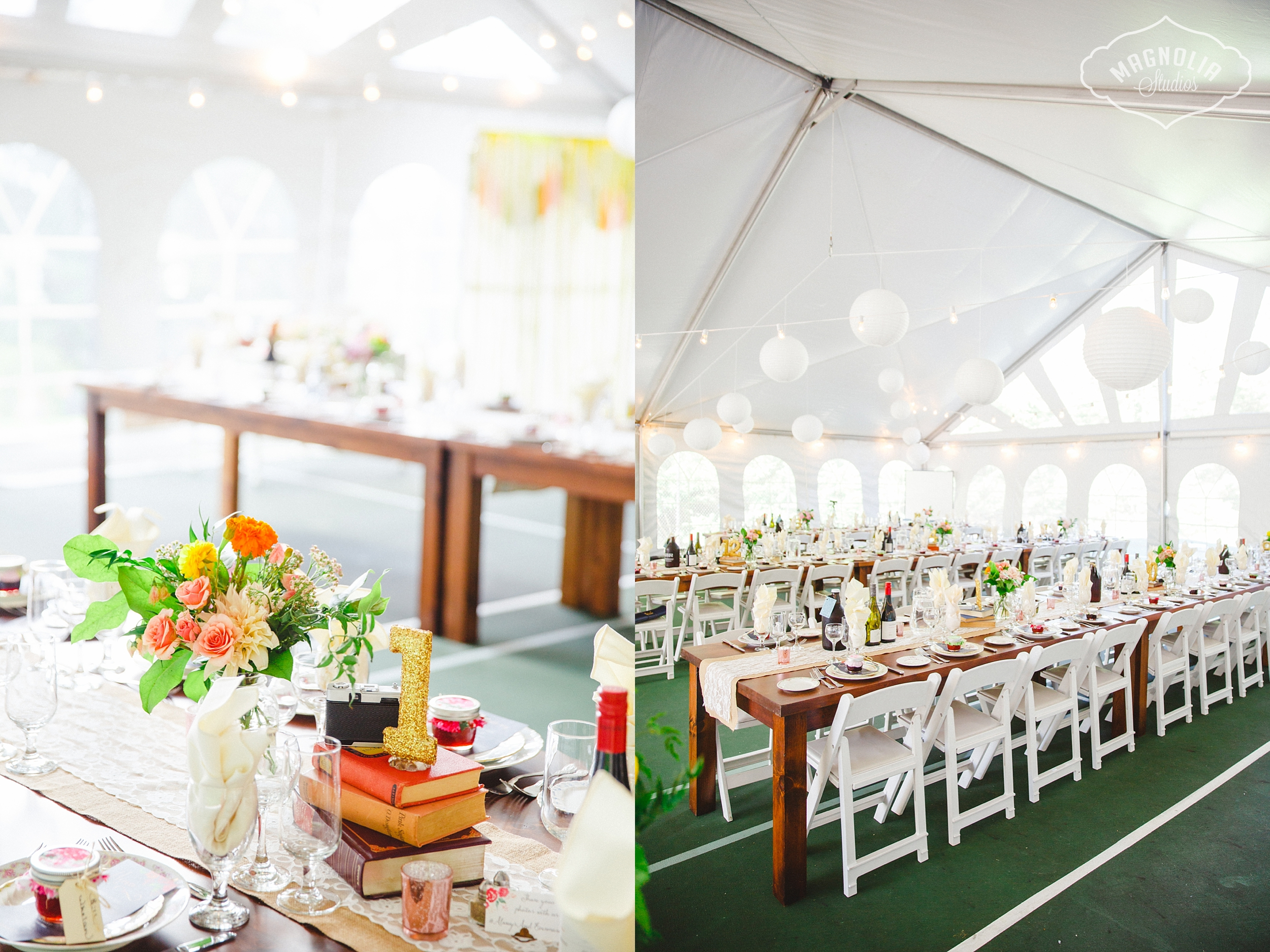 bohemain indie wedding decor
