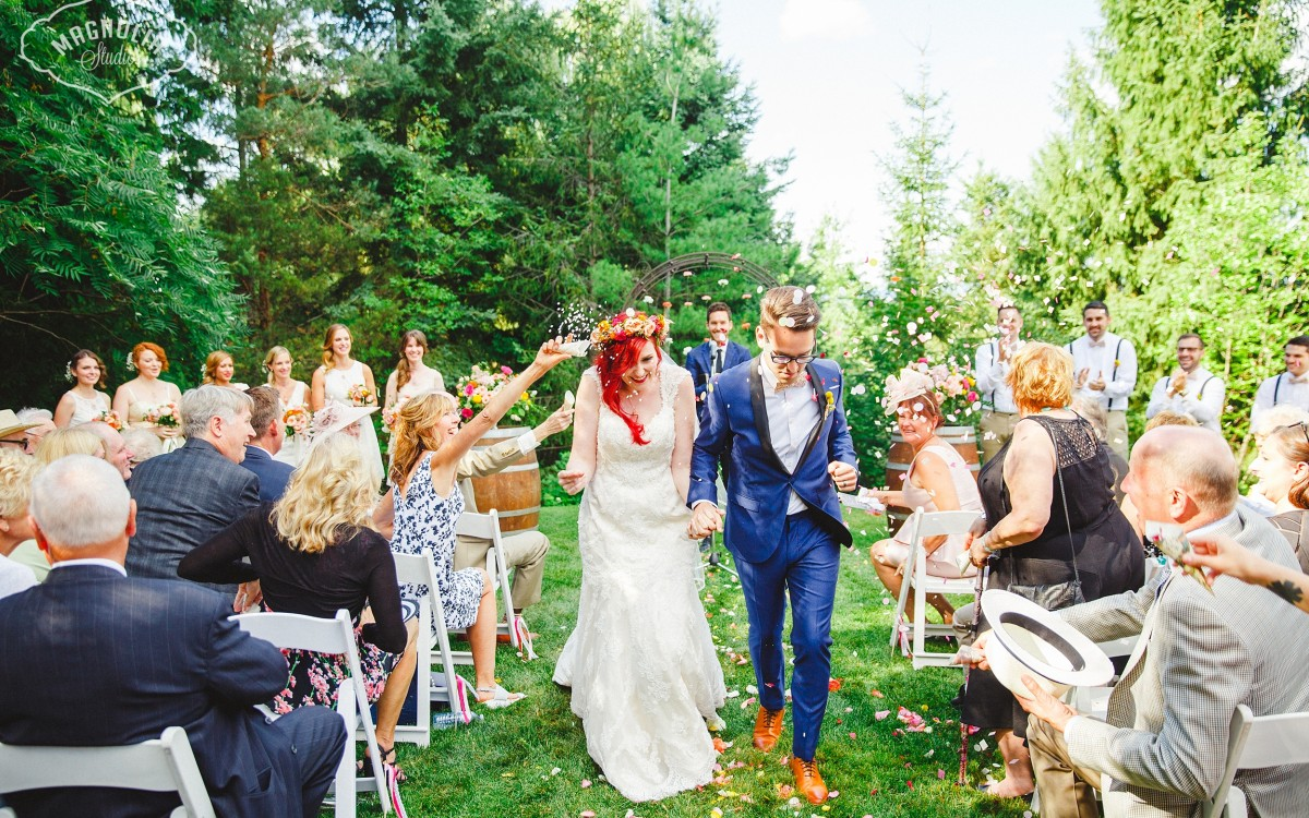 colourful bohemian wedding Toronto