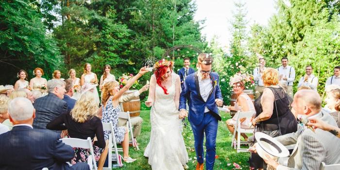colourful bohemian wedding Toronto