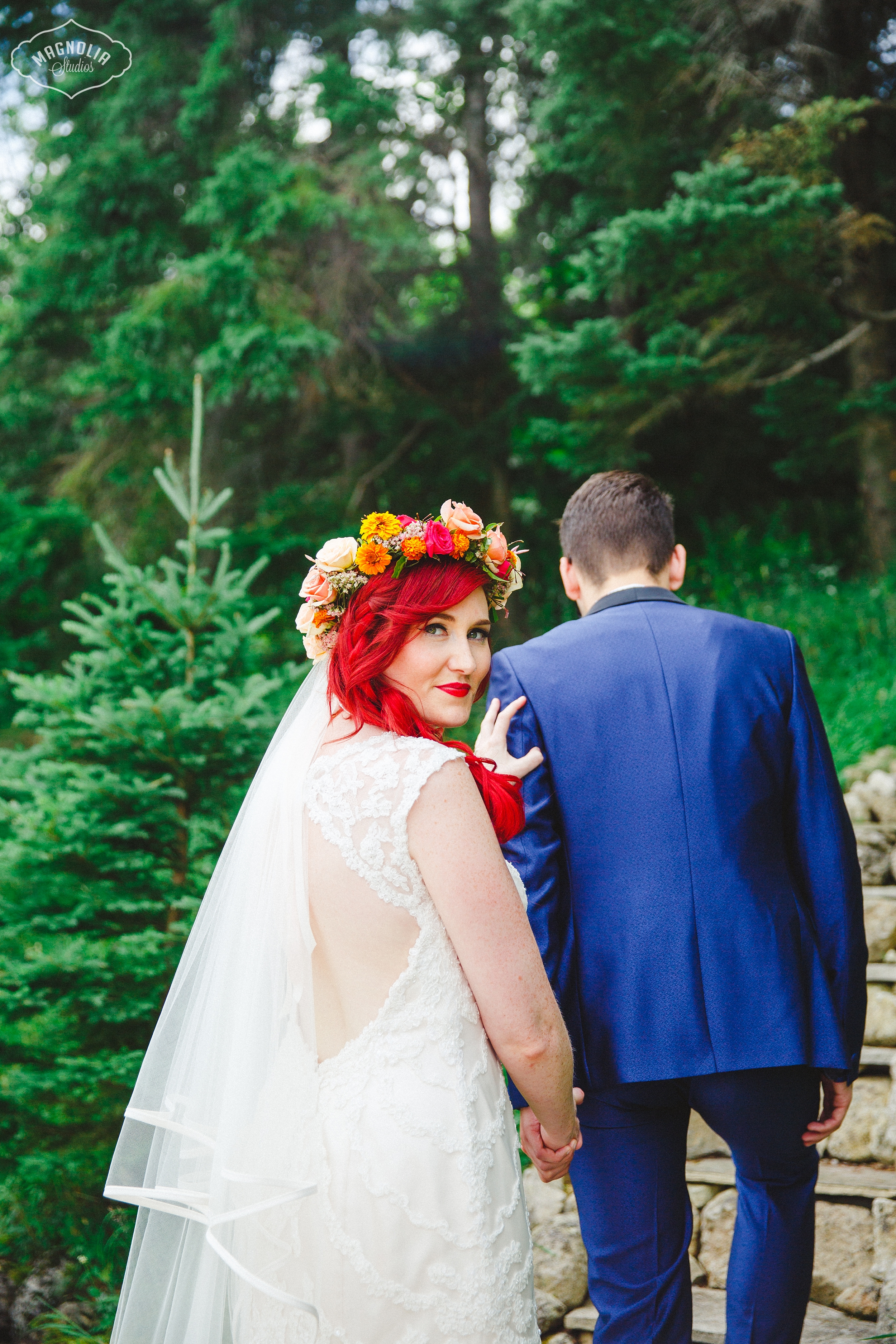 Colourful Bohemian Indie Wedding