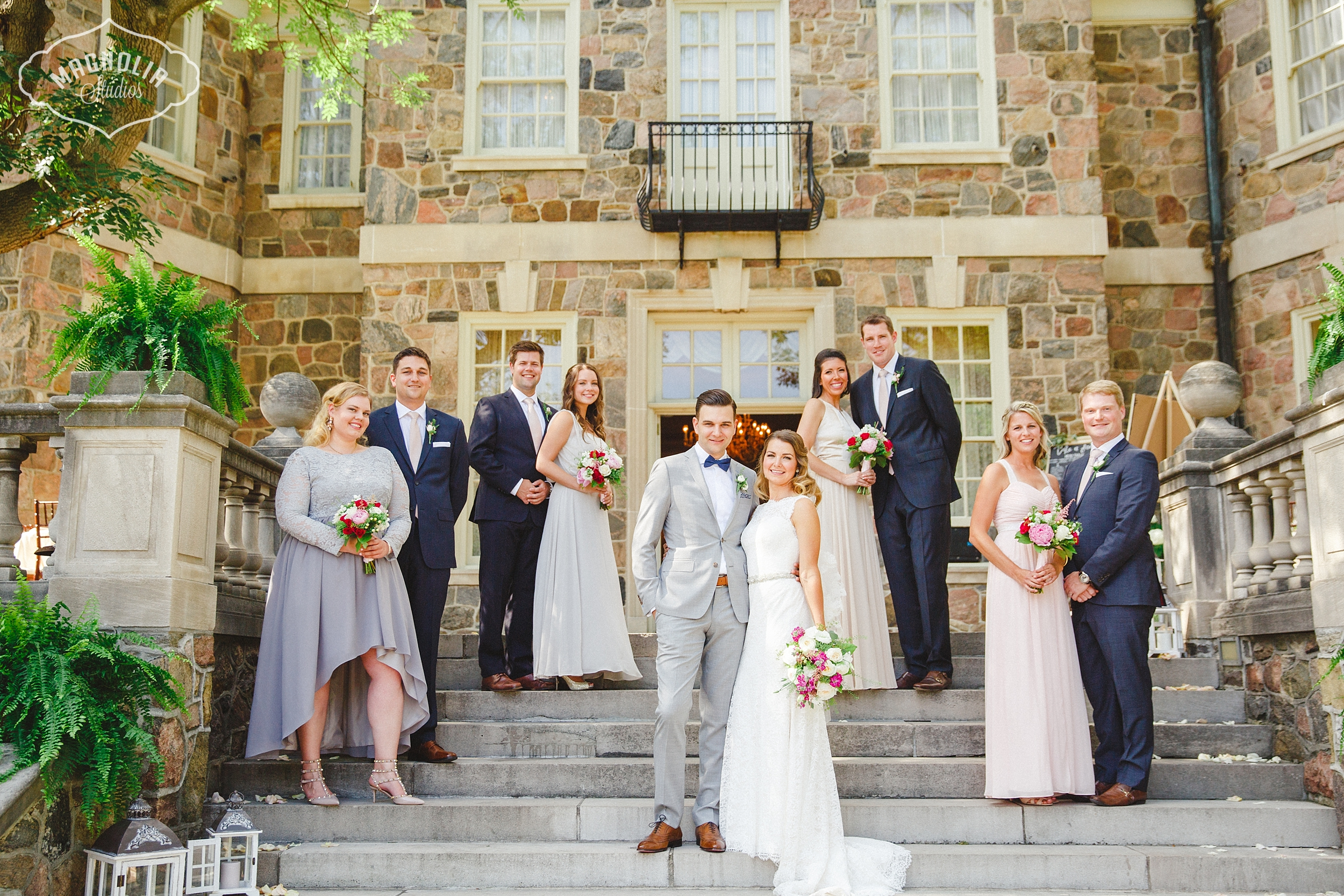 Whimsical and Colourful Graydon Hall Wedding