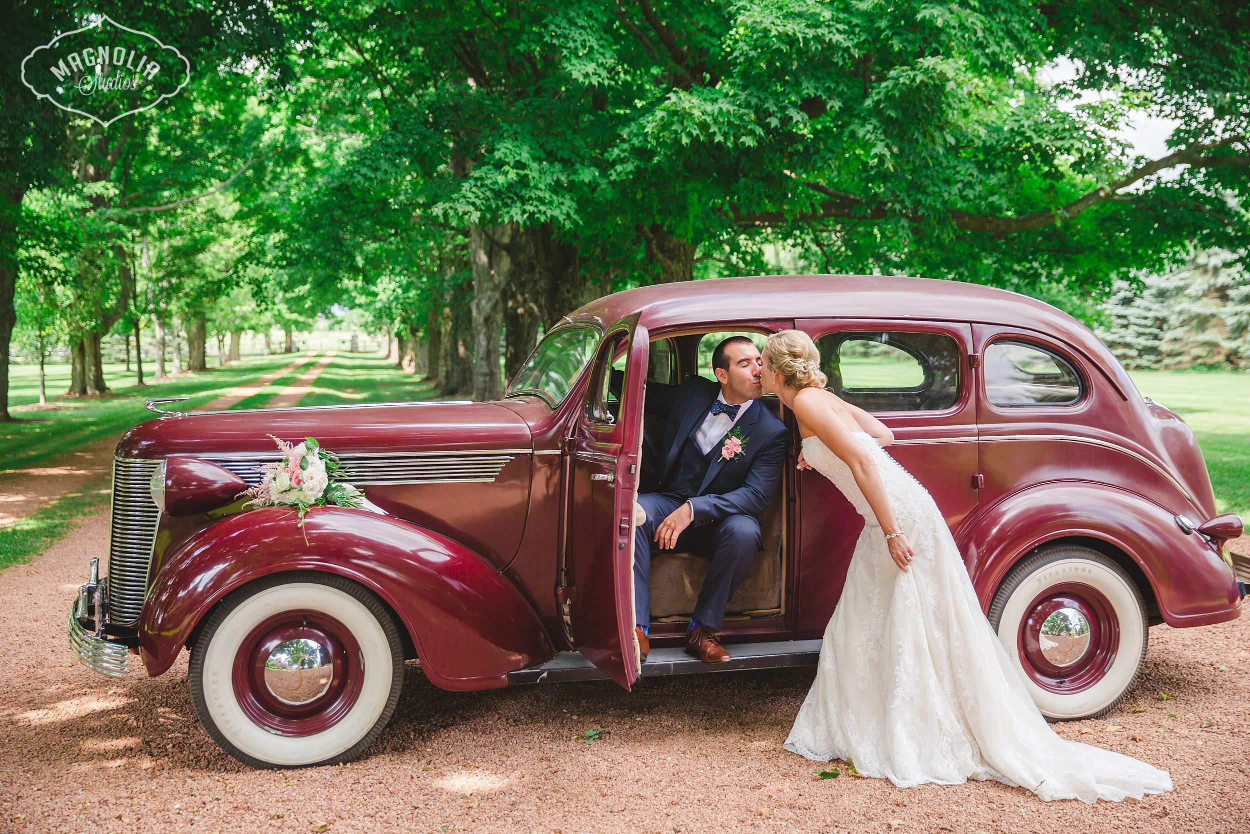 Antique car for weddings Toronto