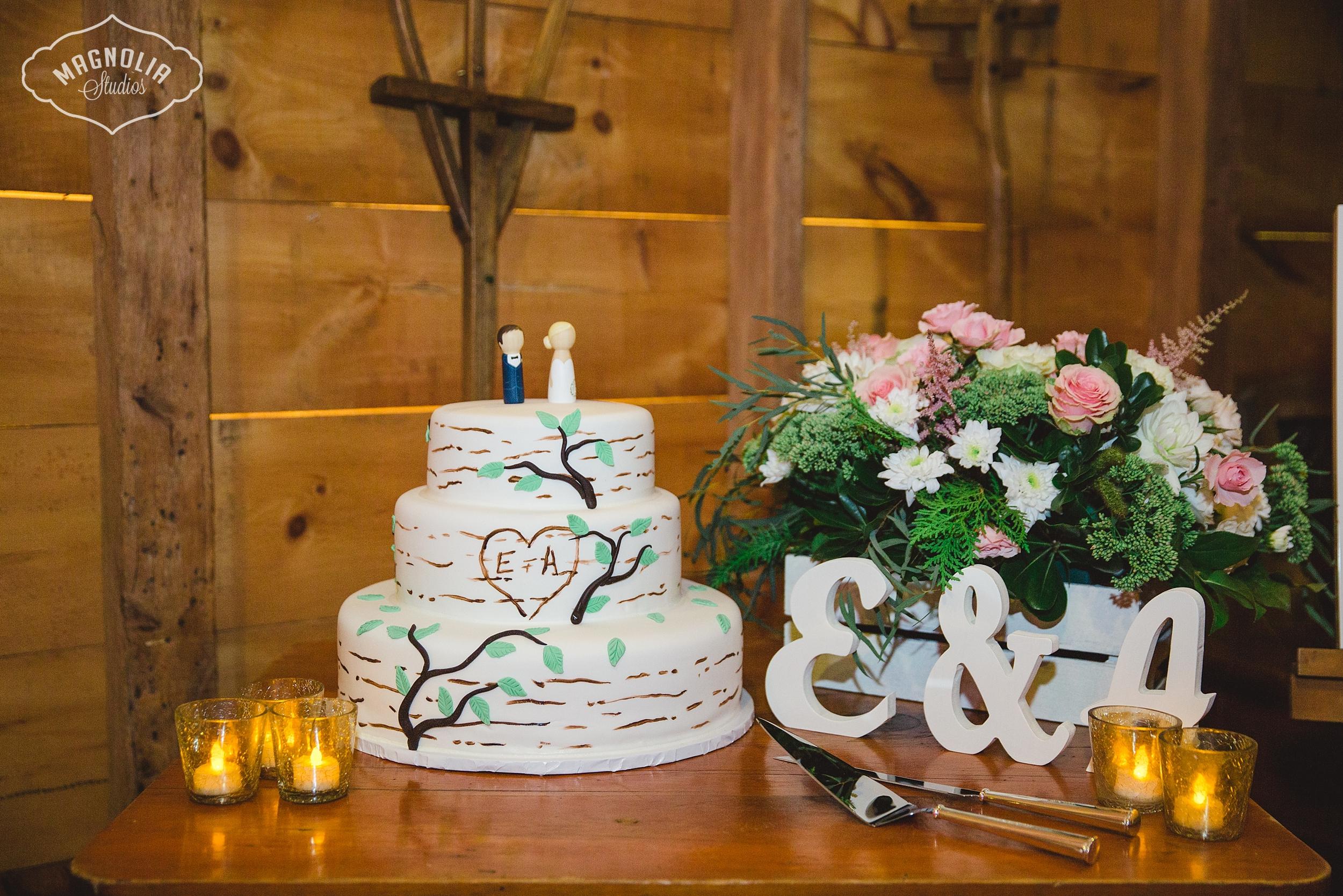 Rustic decor for wedding Toronto
