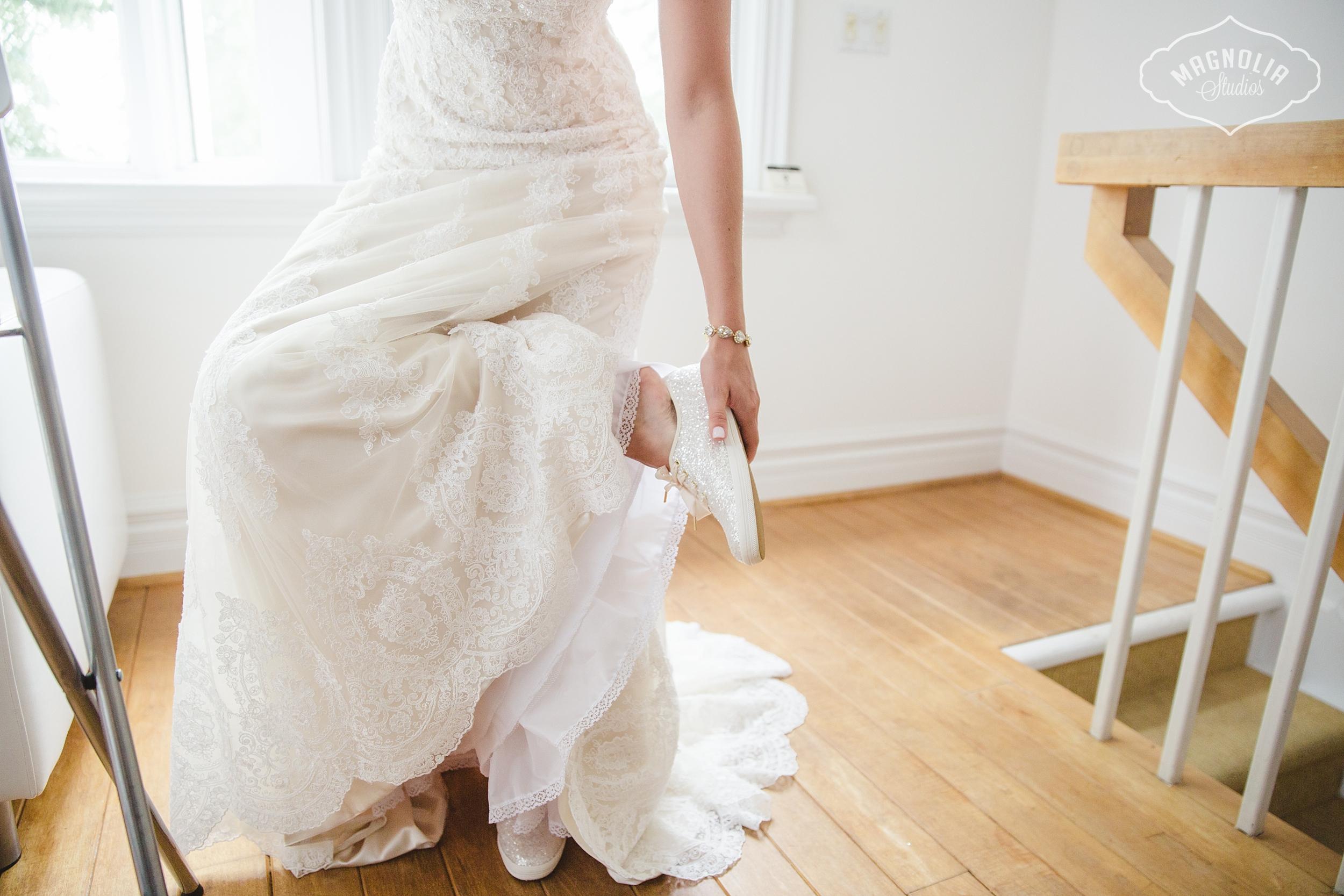 comfortable bridal sneakers