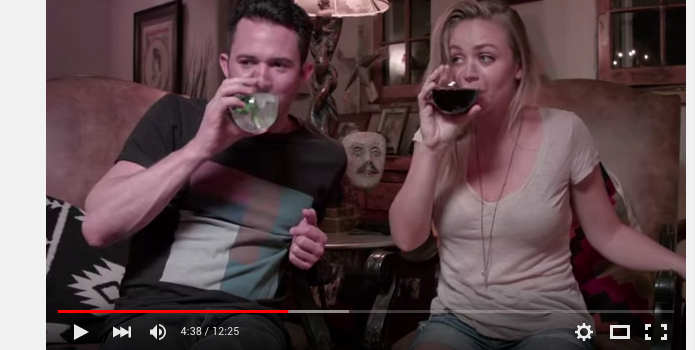 Justin Willman and Jillian Sipkins Drunk History Wedding Video