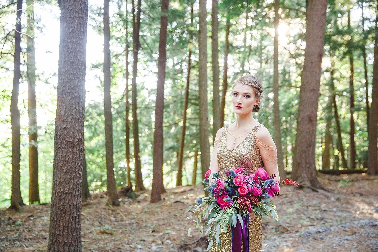 Tanya List design wedding bouquet