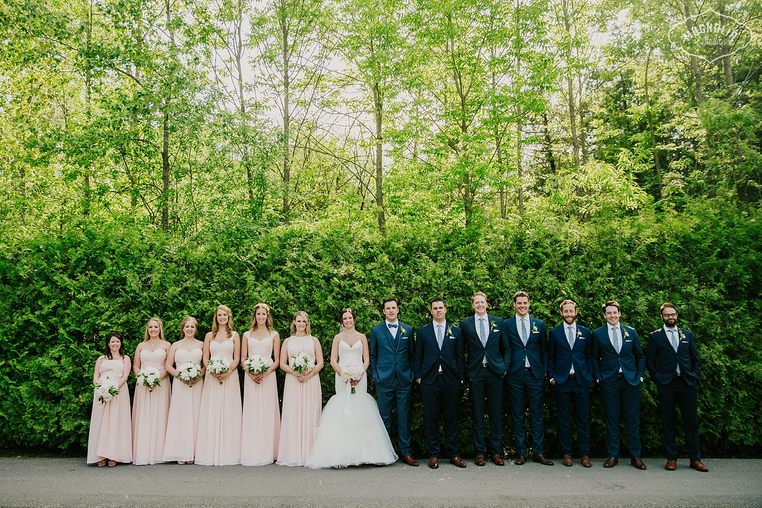 cool wedding party photos