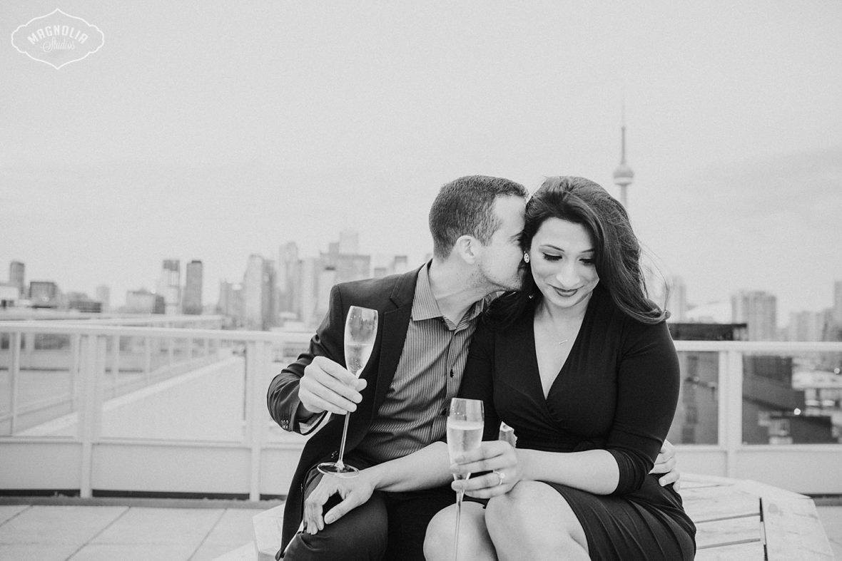 Thompson Hotel Engagement Photos