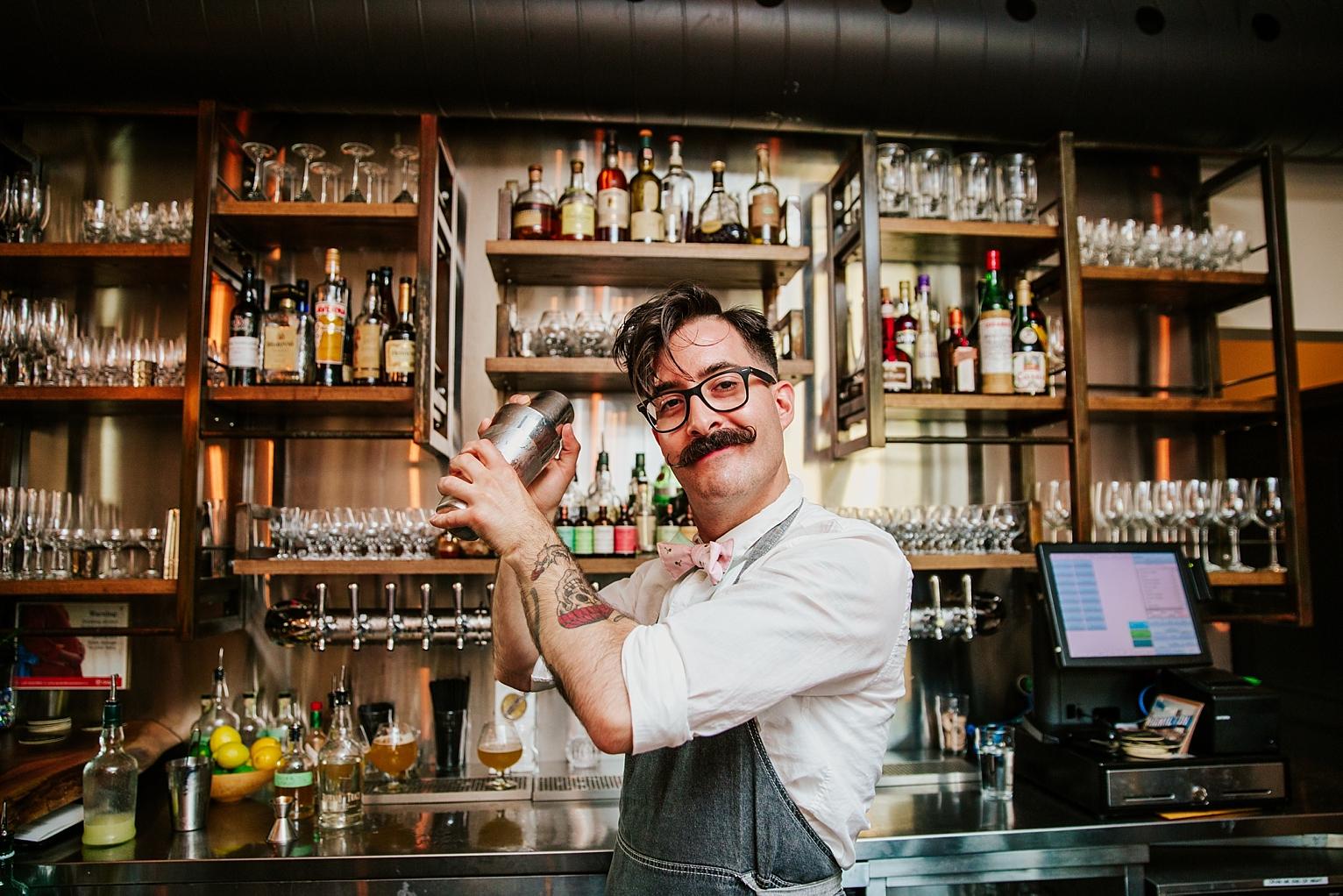 Bartender at Brux House