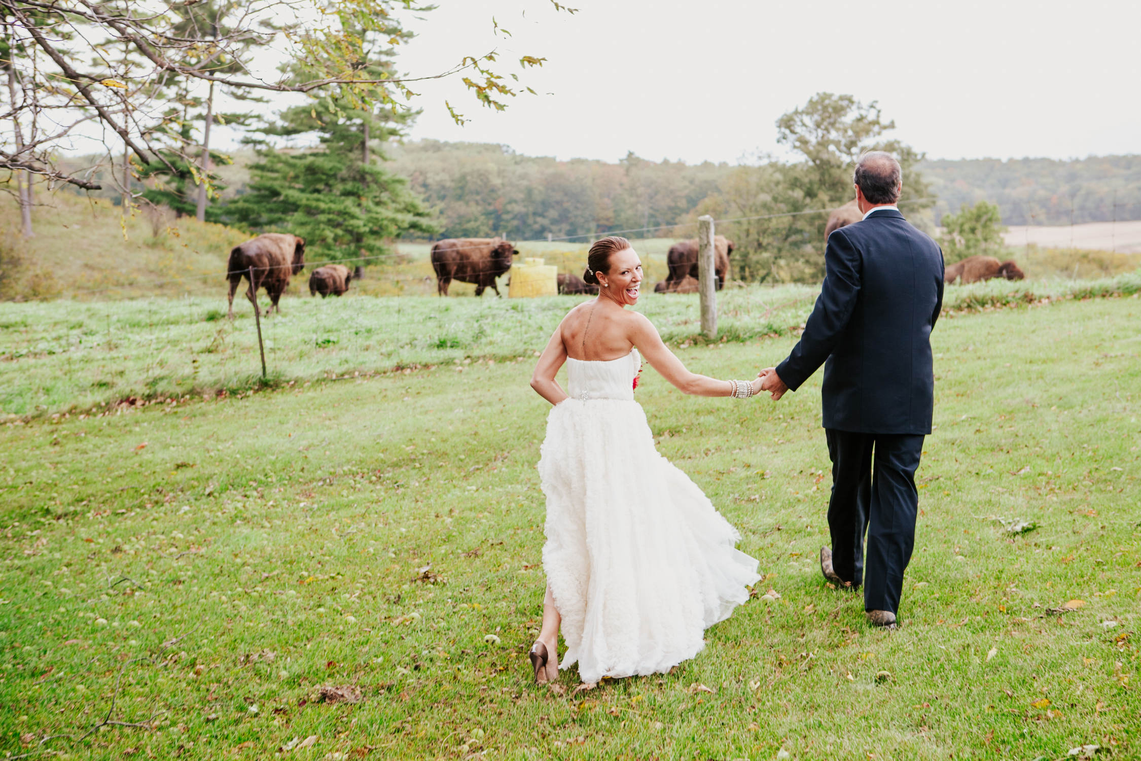 Unique country wedding photography