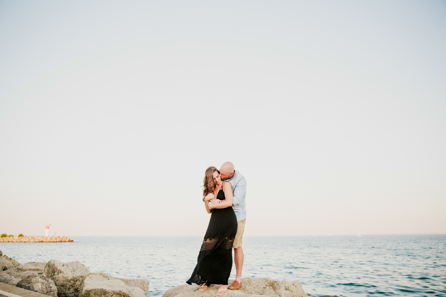 bronte harbour engagement photography oakville