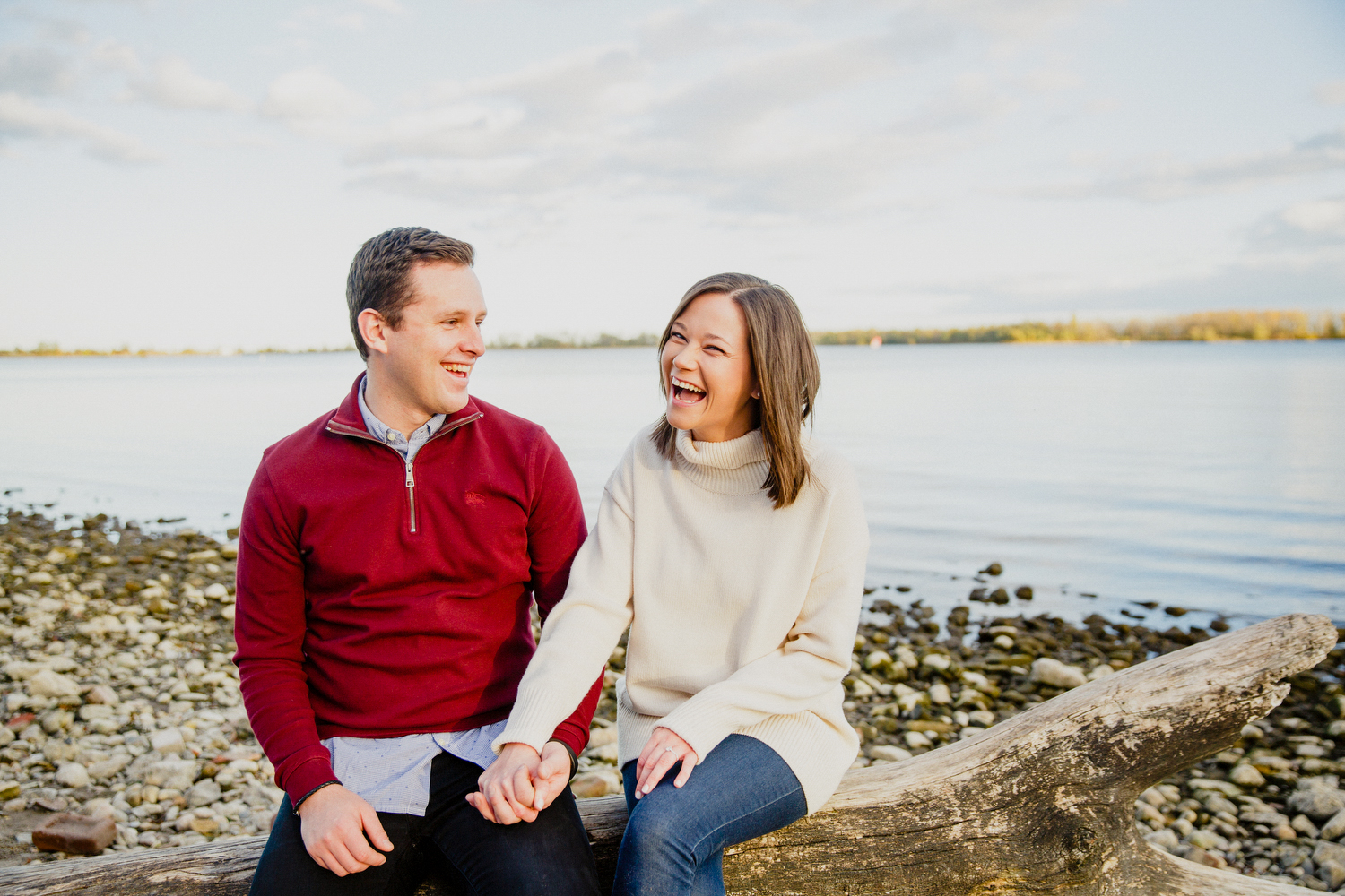 cherry beach engagement photography by magnolia studios