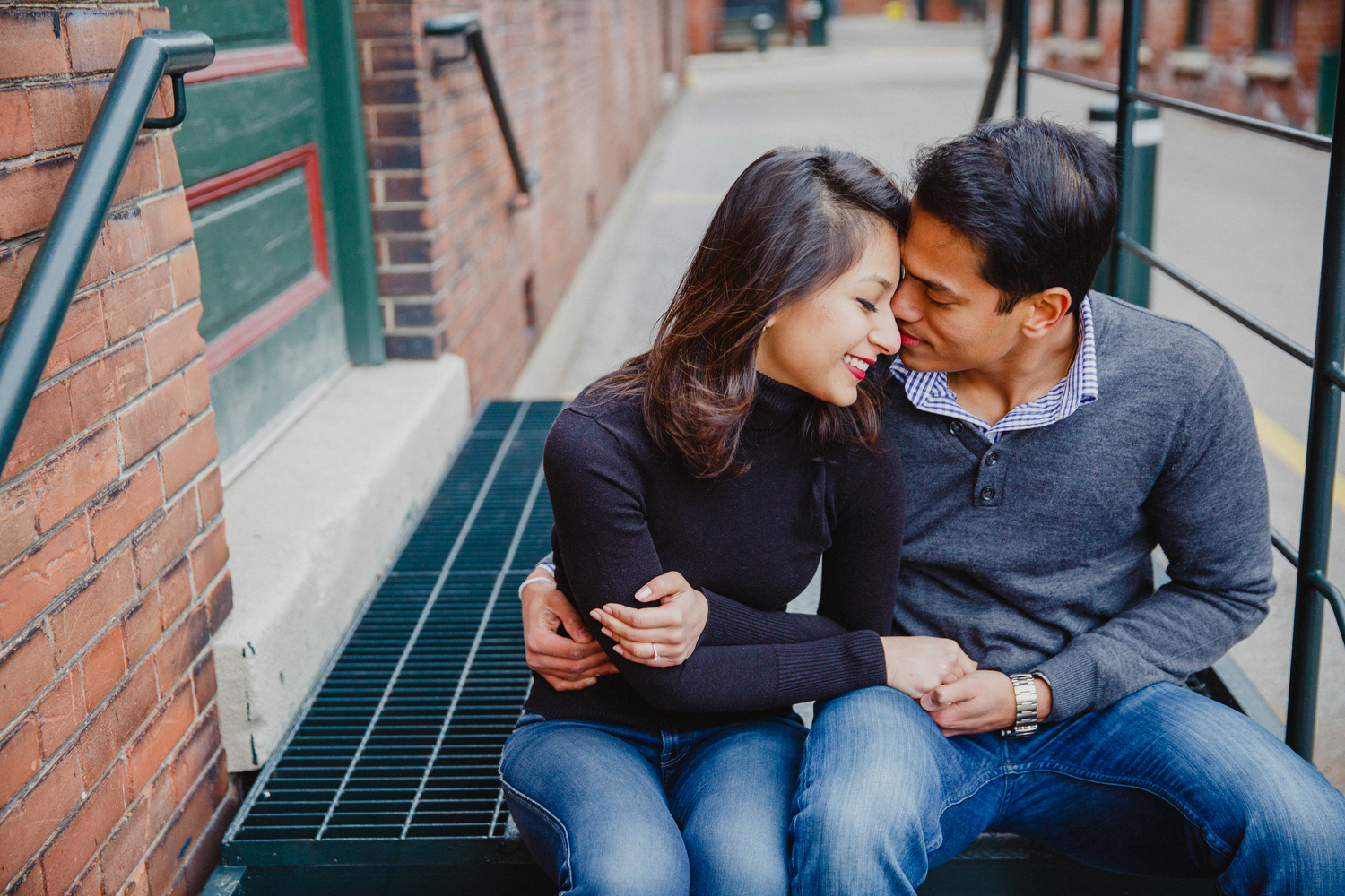 liberty village engagement photography toronto