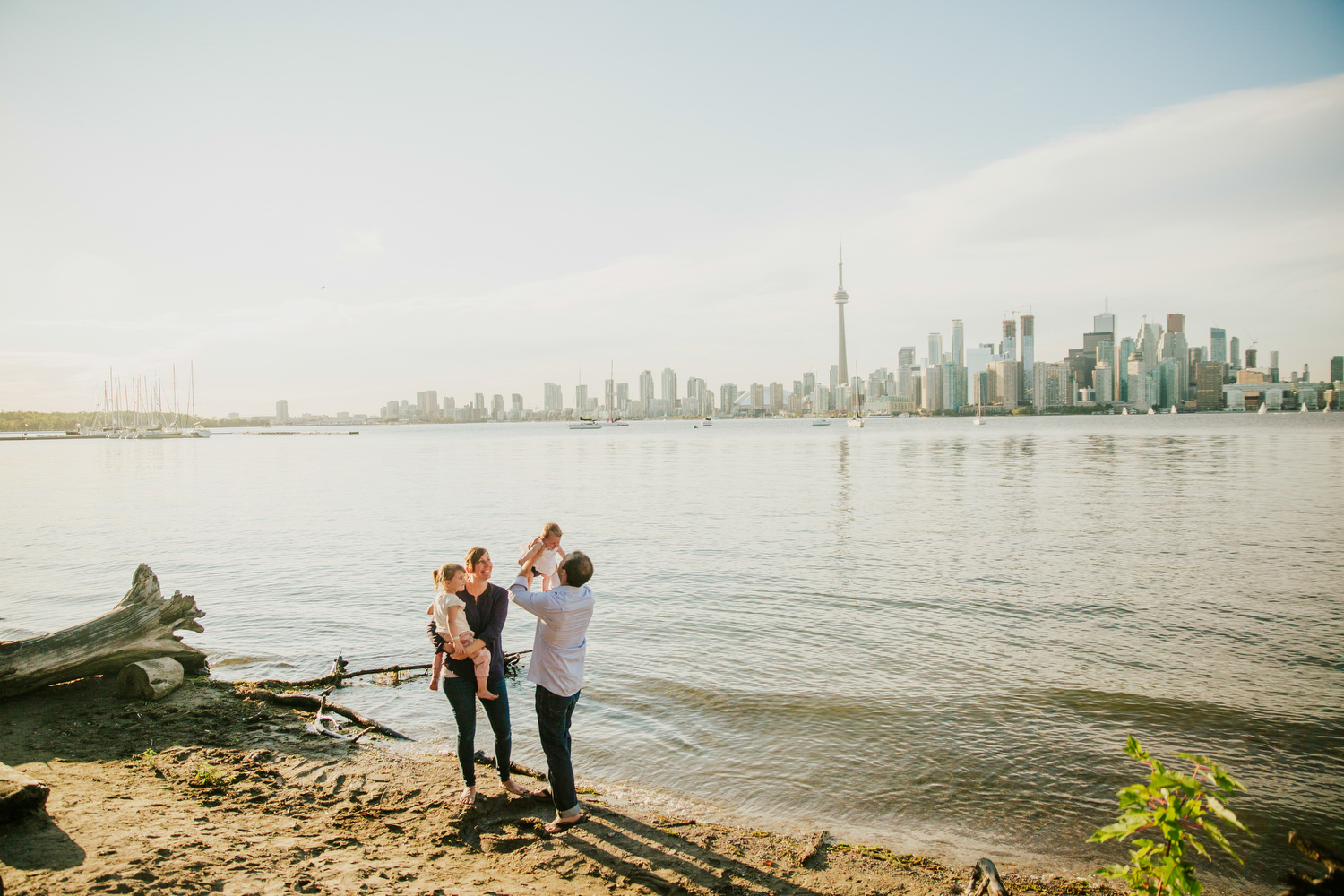 toronto island family photography