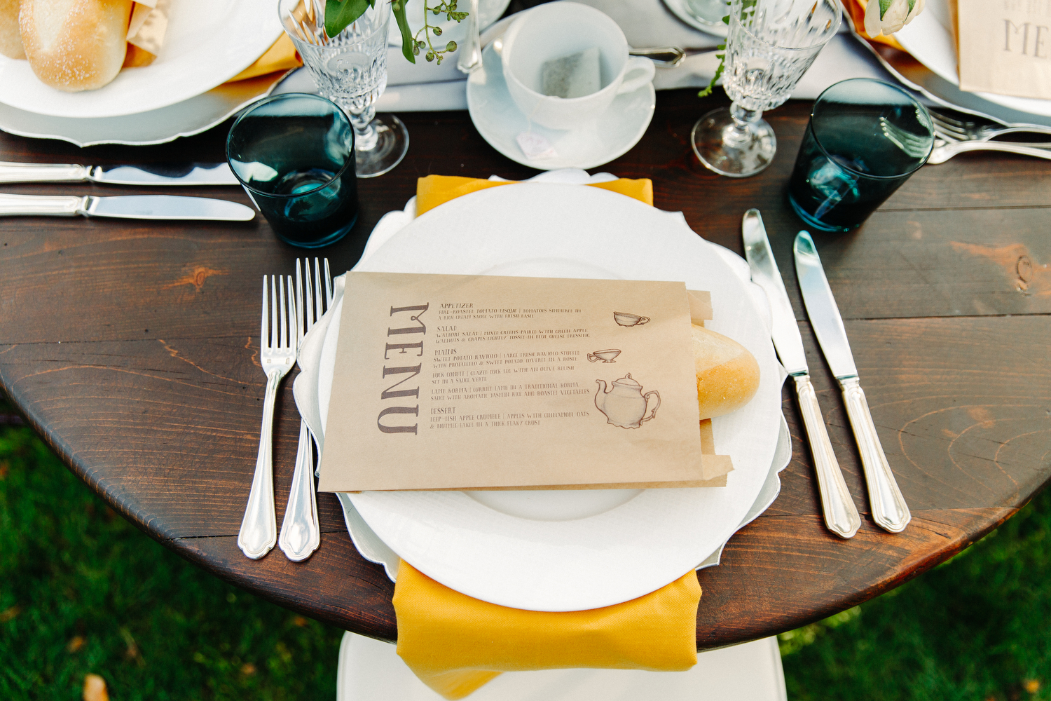 langdon hall menu cards
