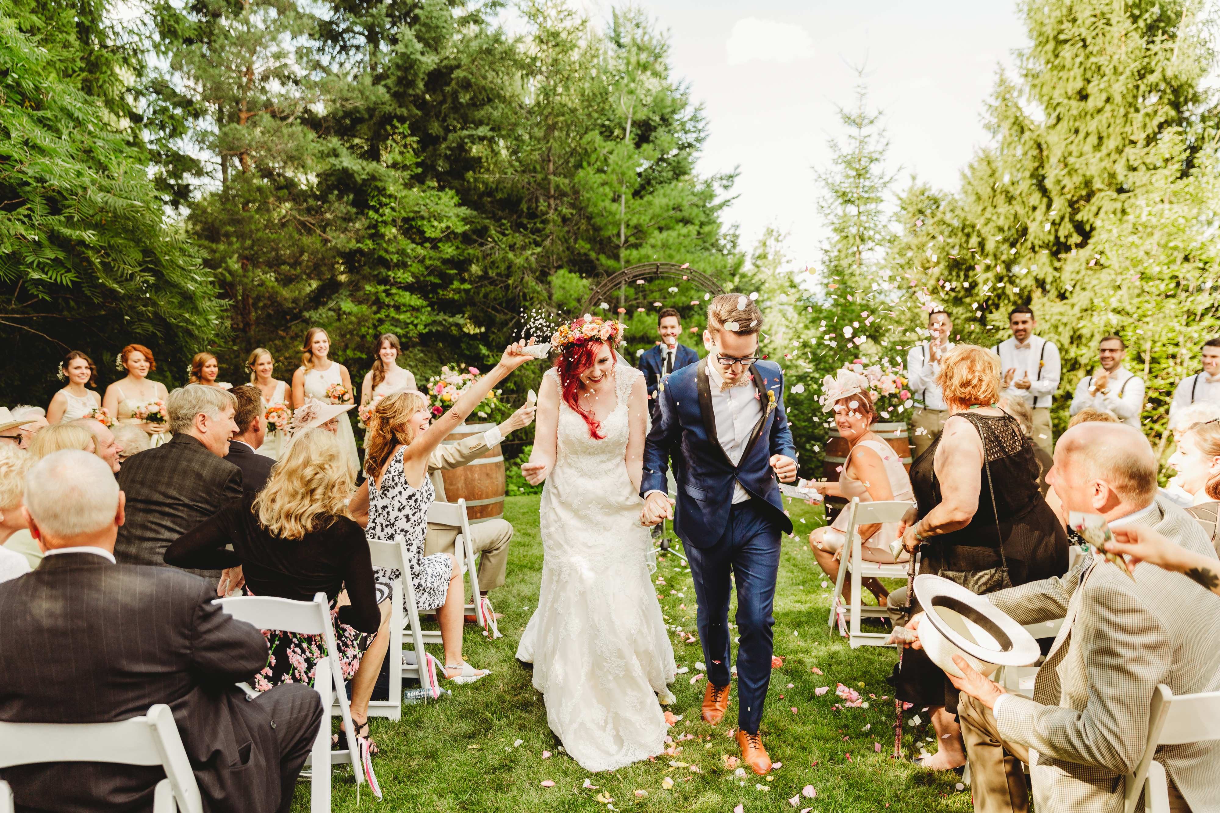 bohemian indie toronto wedding photography
