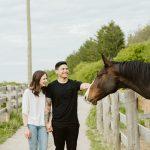 Rustic country farm engagement shoot Toronto