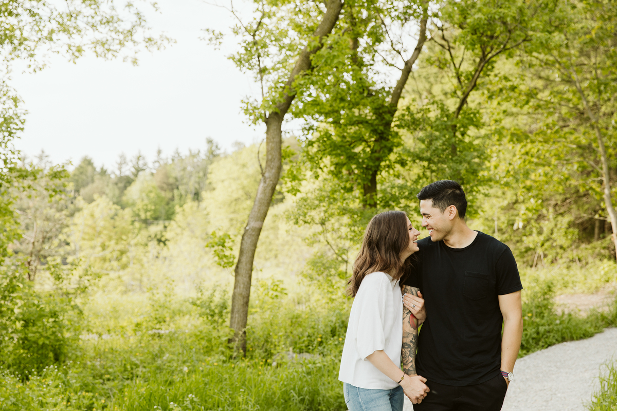 rustic engagement photography toronto