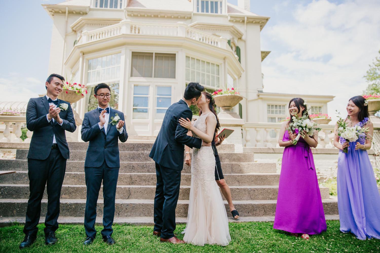 wedding photography in toronto at spadina house