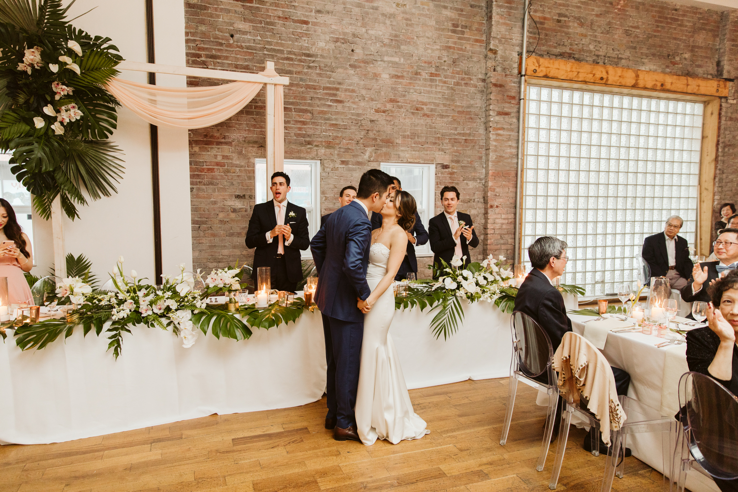 indie Toronto wedding at 99 Sudbury