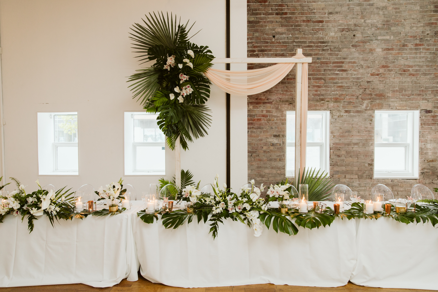 Tropical bohemian wedding at 99 Sudbury by Magnolia Studios Toronto