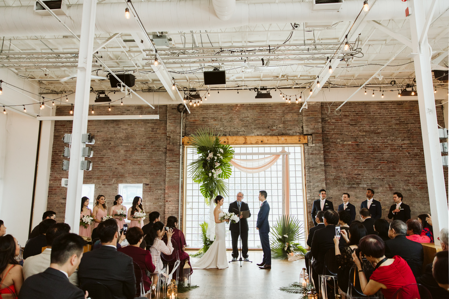 Magnolia Studios tropical Toronto wedding photography at 99 Sudbury