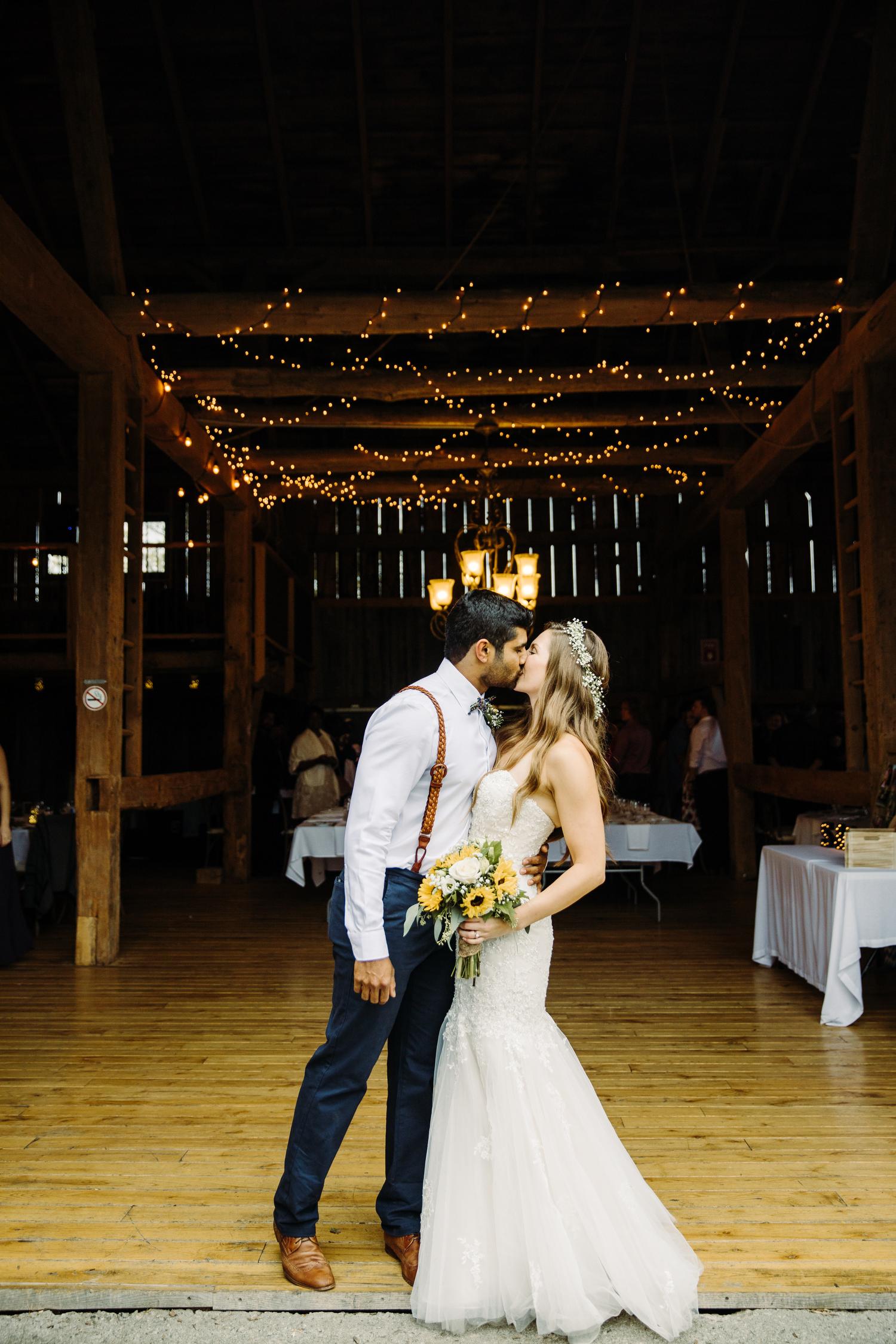 rustic bohemian barn wedding