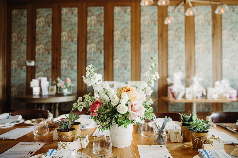 coriander girl wedding flowers