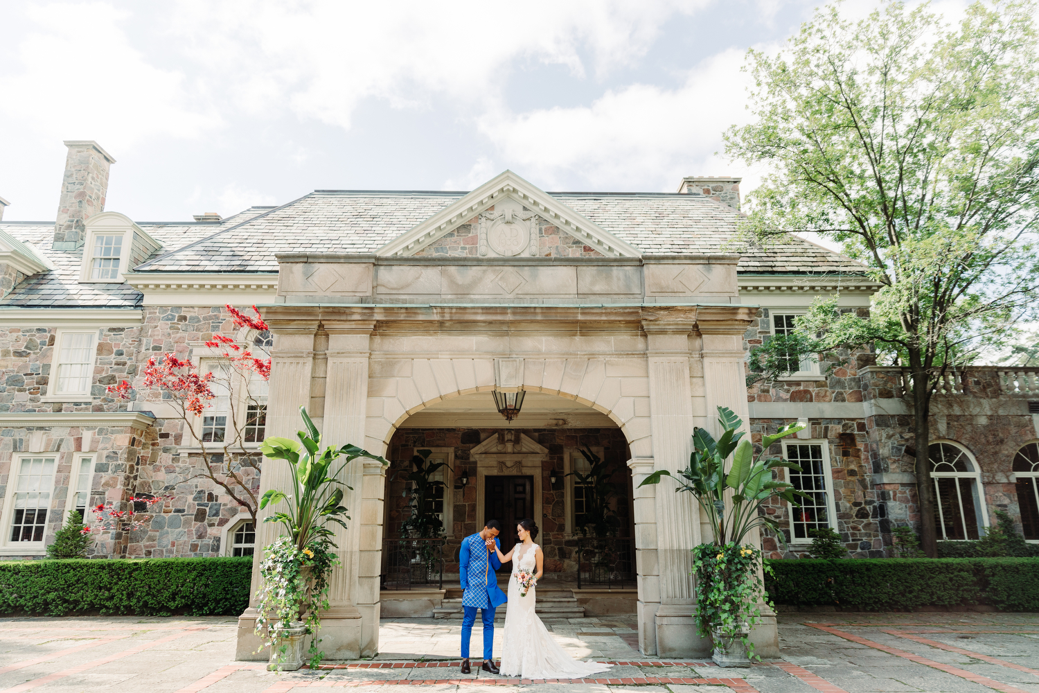 stylish graydon hall wedding