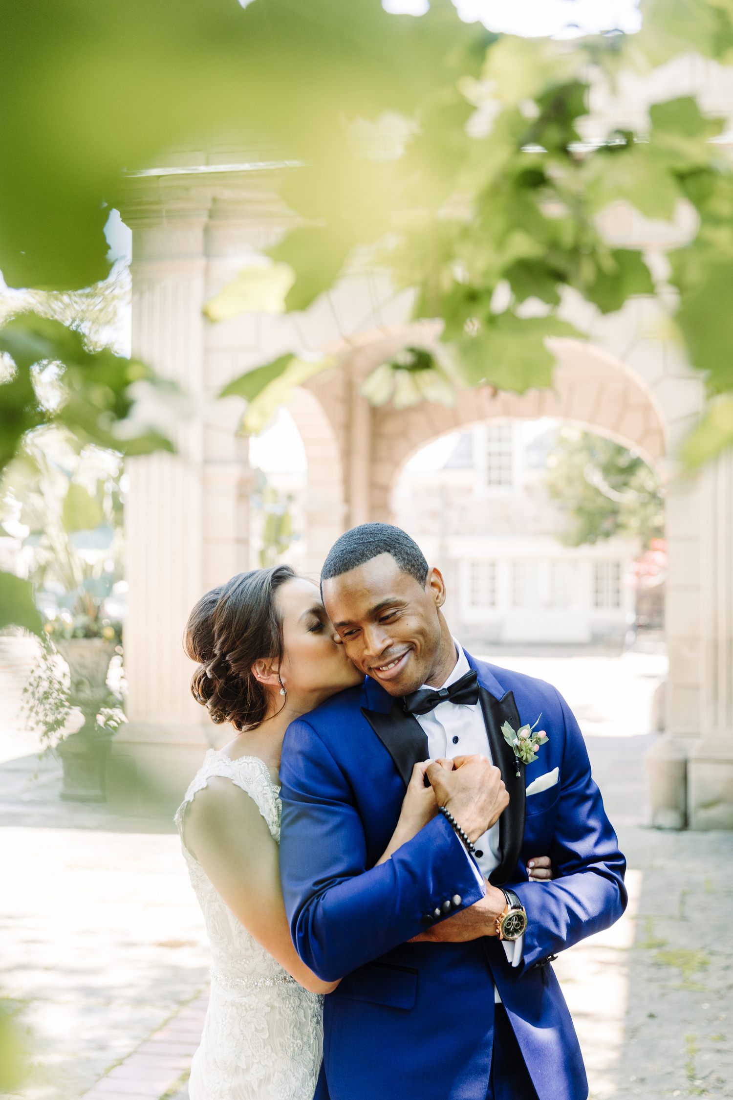 graydon hall stylish garden wedding