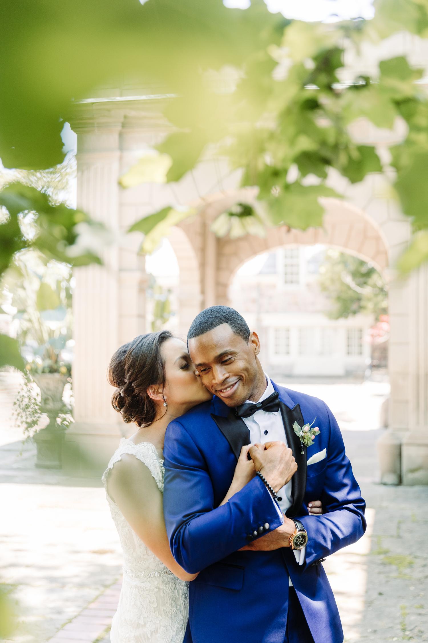graydon hall stylish garden wedding