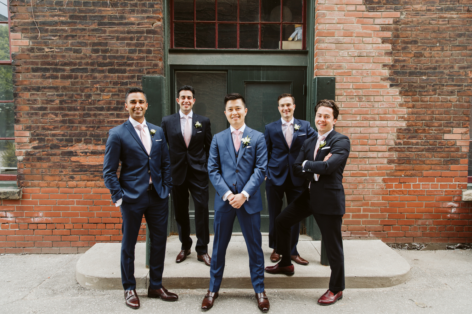 Groomsmen suits Got Style Indochino wedding photography