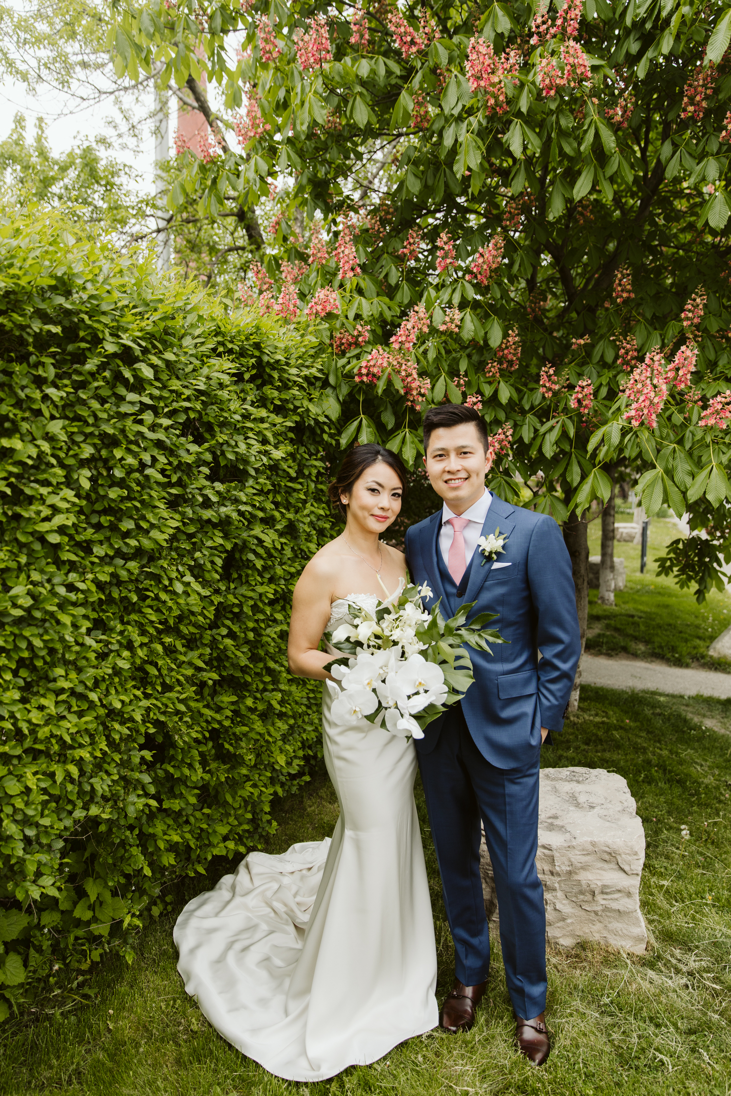 Liberty Village Toronto wedding photography by Magnolia Studios