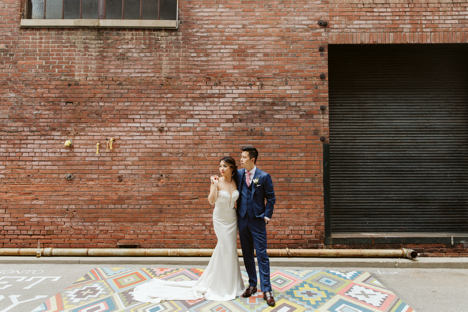 Liberty Village wedding Magnolia Studios photography