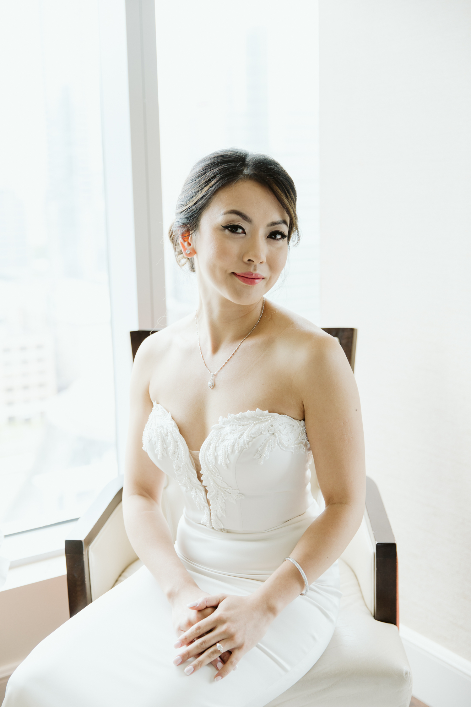 Sash and Bustle wedding dress Toronto photography